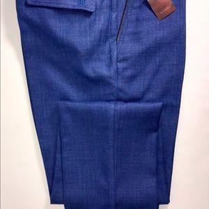 Stefano Ricci Pants Mens Blue Pants Luxury Sz 33